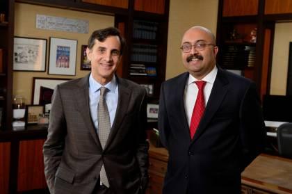 President Daniels and Provost Kumar